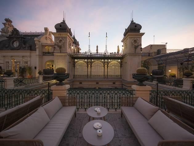 Paco Roncero Restaurante terrace