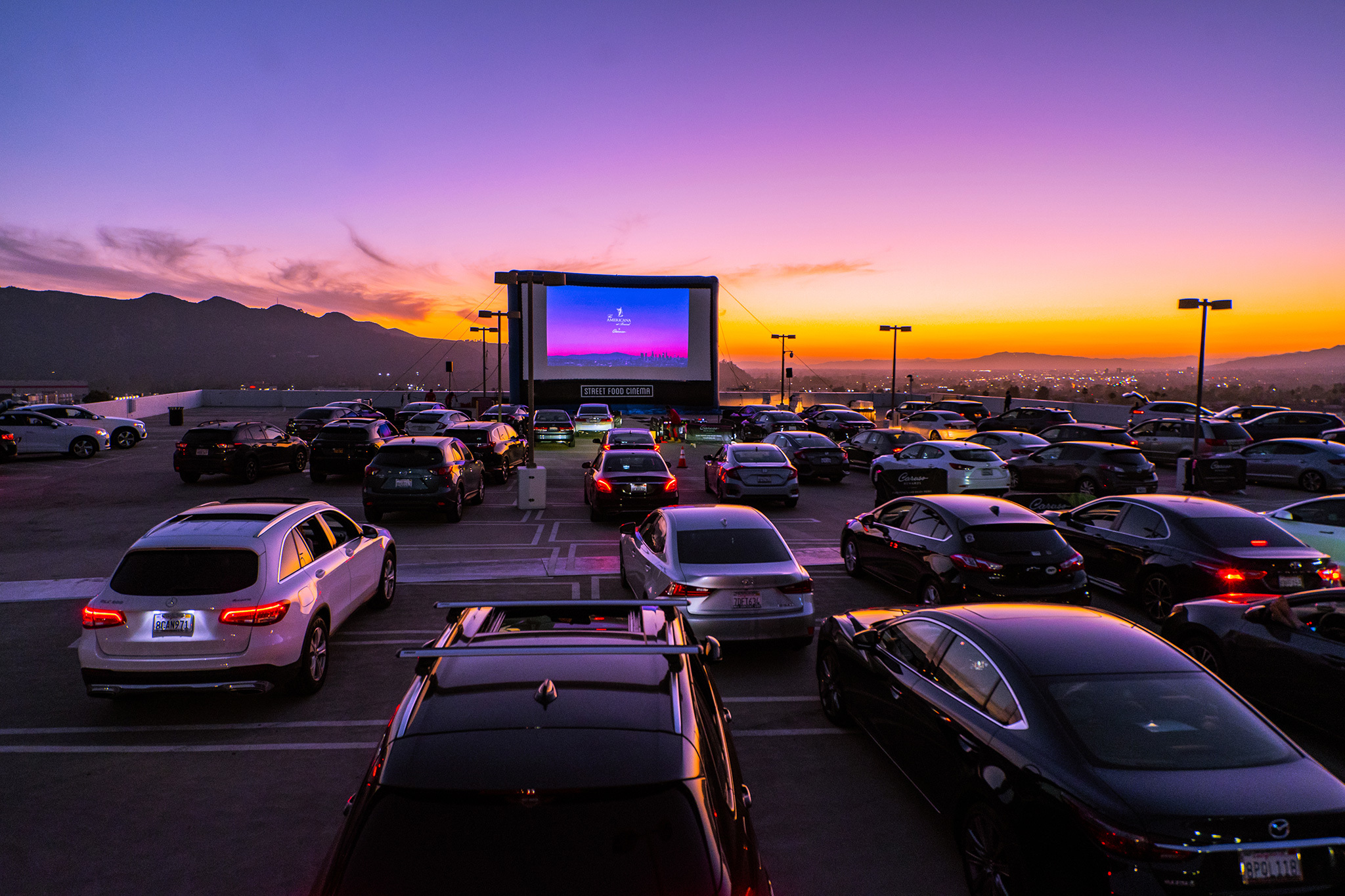 Level 8 Drive In The Americana At Brand Movies In Los Angeles