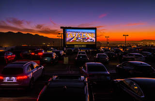 Level 8 Drive-In at the Americana