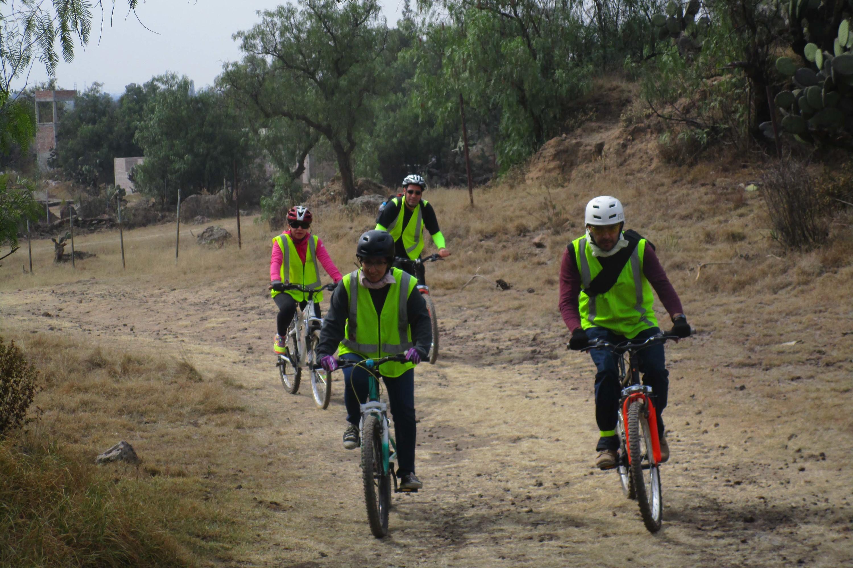 Regresan las rodadas de Teotihuacán en bici