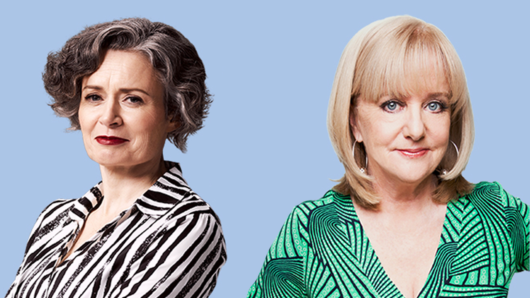 Judith Lucy and Denise Scott: Disappointments Zoom Cast