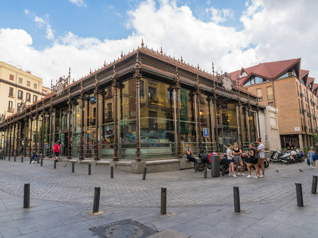 Exterior del Mercado de San Miguel