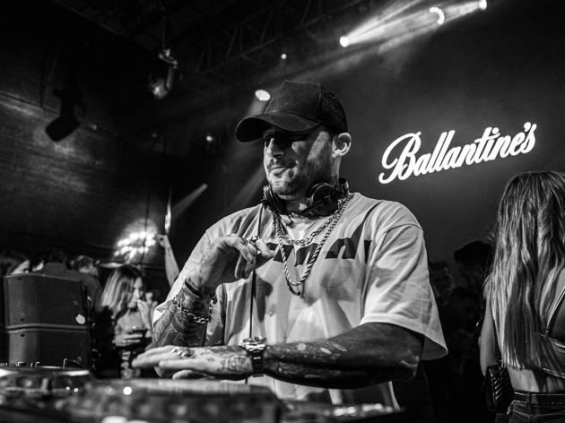 Sesión de DJ Nano