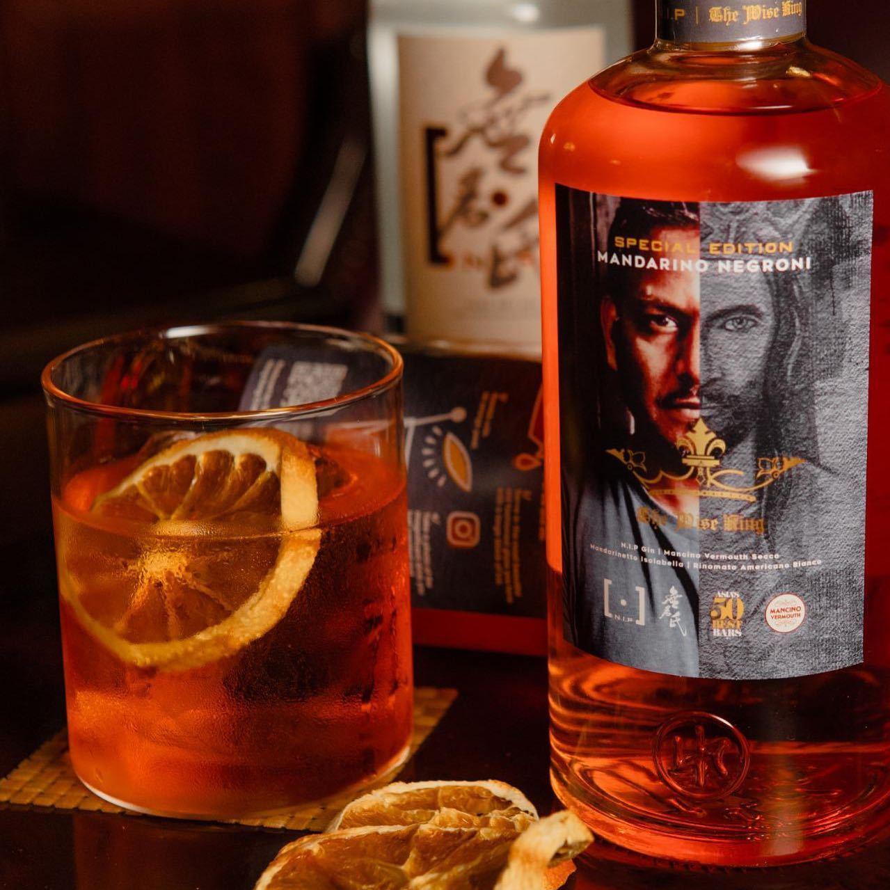 The Wise King Bottled Cocktail NIP Distilling