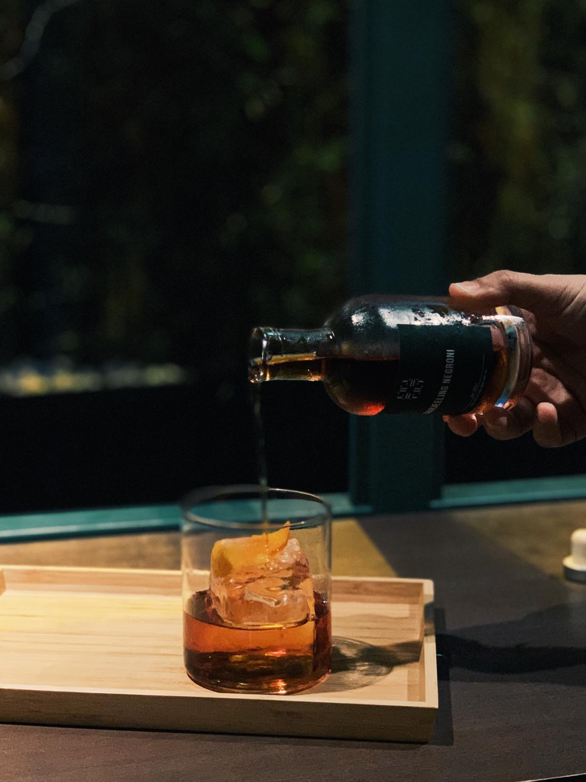 tell camellia bottled cocktail