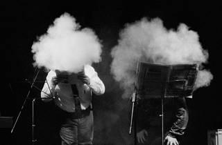 Recital Accidents Polipoètics. Xavier Theros i Rafael Metlikovez.Barcelona