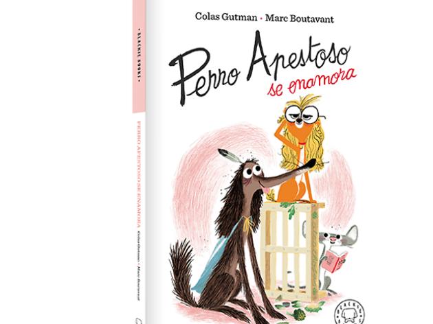Libro infantil Perro apestoso se enamora