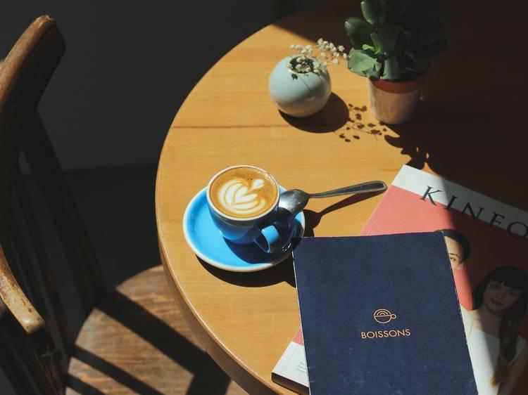 Prendre une pause au Prélude Café