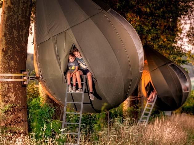 Teardrop tent in Borgloon