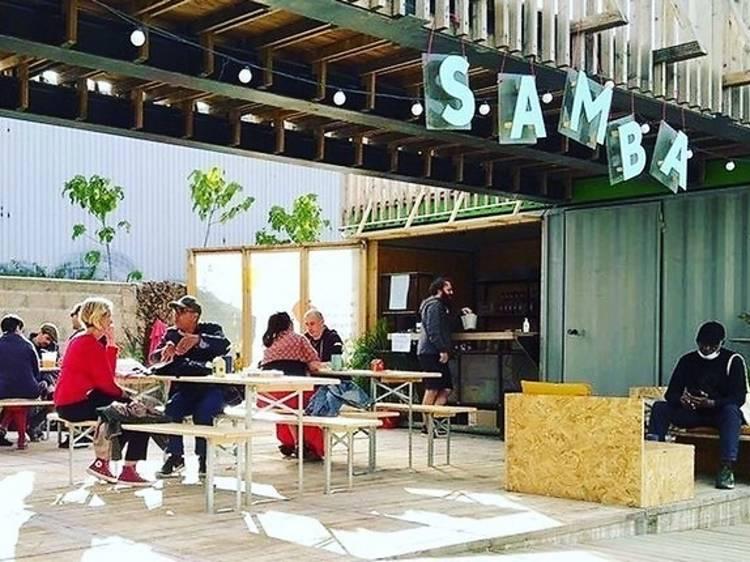 A La Défense, Samba, nouveau bar à bières artisanales caché dans une friche culturelle