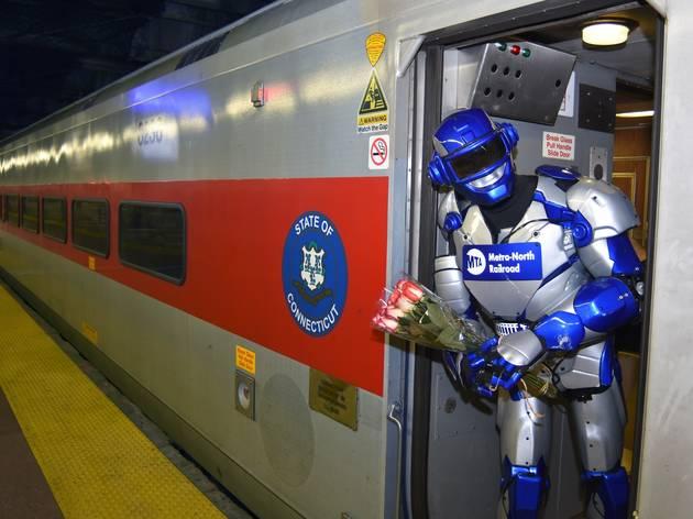 Metro-Man robot superhero