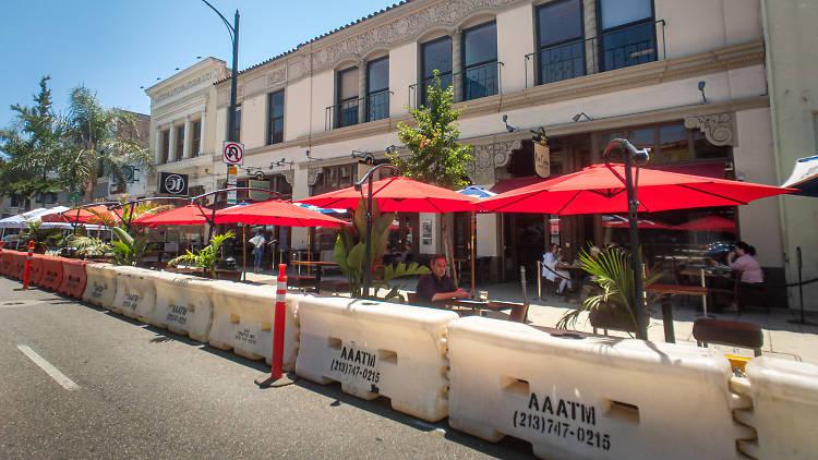 Pasadena outdoor dining