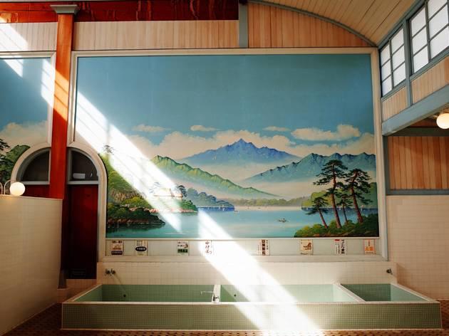 Japanese sento bathhouse