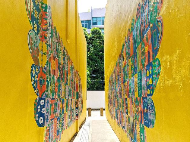 The best street art in Singapore