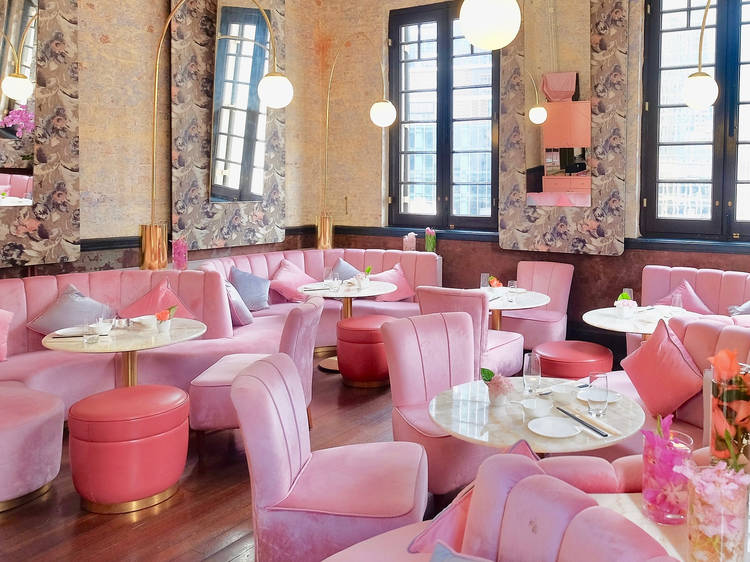 Instagrammable pink cafes and restaurants in Hong Kong