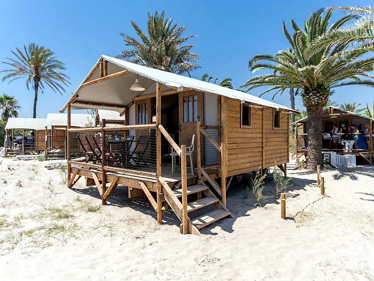 cabañas playa
