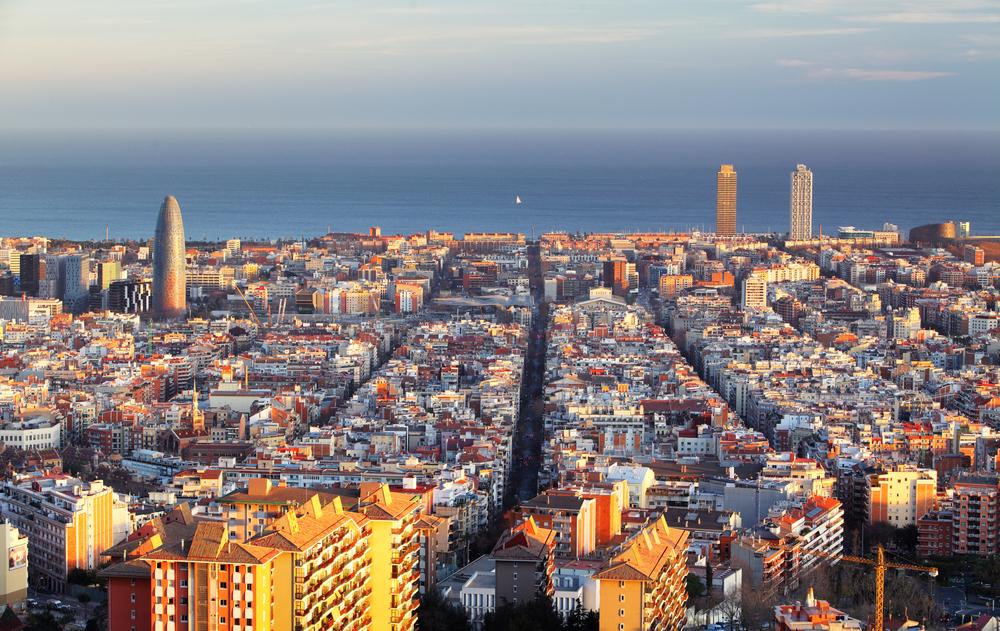 El precio del alquiler sufre una fuerte caída en Barcelona