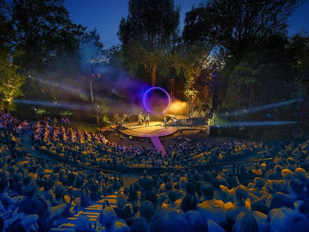 Regent's Park's beautiful Open Air Theatre is back