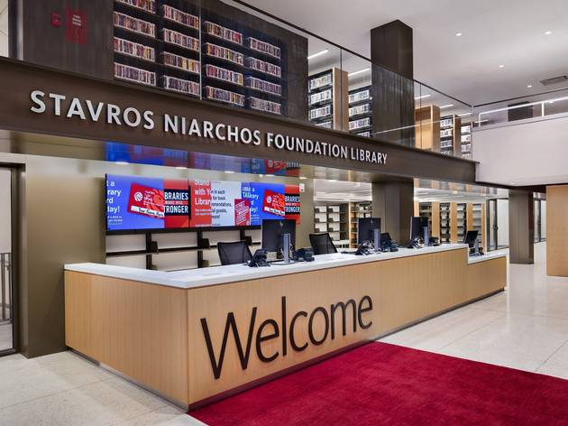 NYPL Central Circulating Branch, The Stavros Niarchos Foundation Library