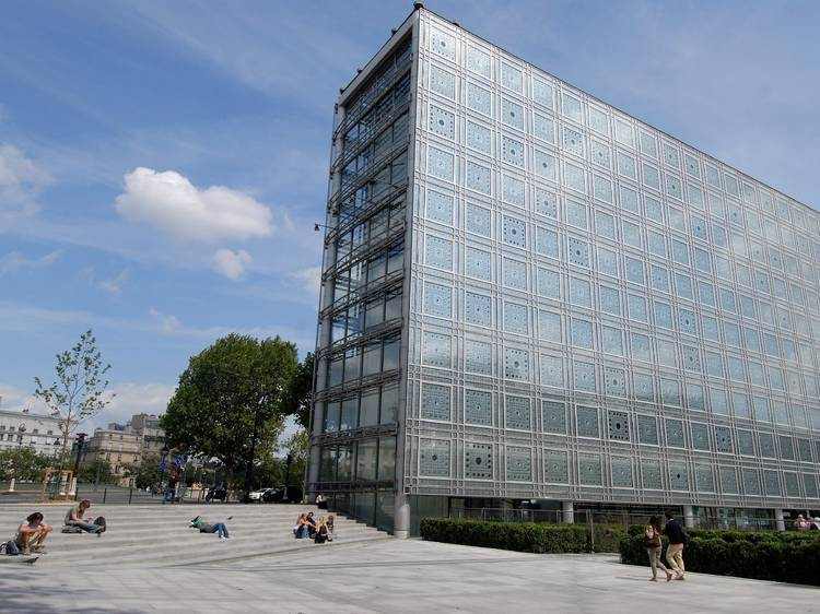 Le toit de l'Institut du monde arabe se transforme en giga-terrasse hip-hop
