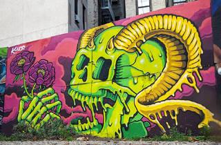 East Village First Street Green Art Park