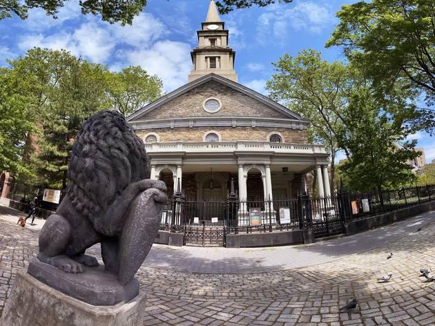 St. Mark's Church on the Bowery
