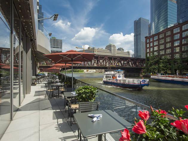Porter Kitchen & Deck, waterfront dining, patio