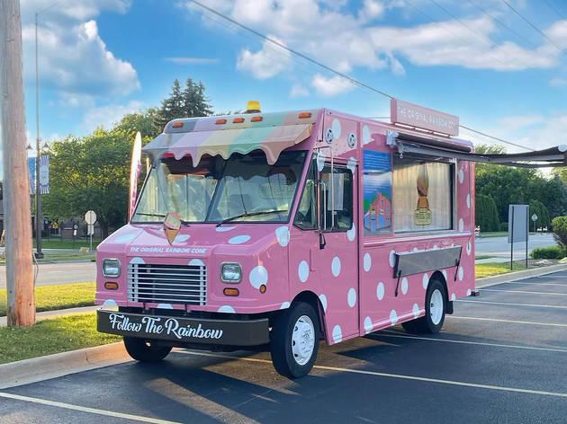 Original Rainbow Cone truck