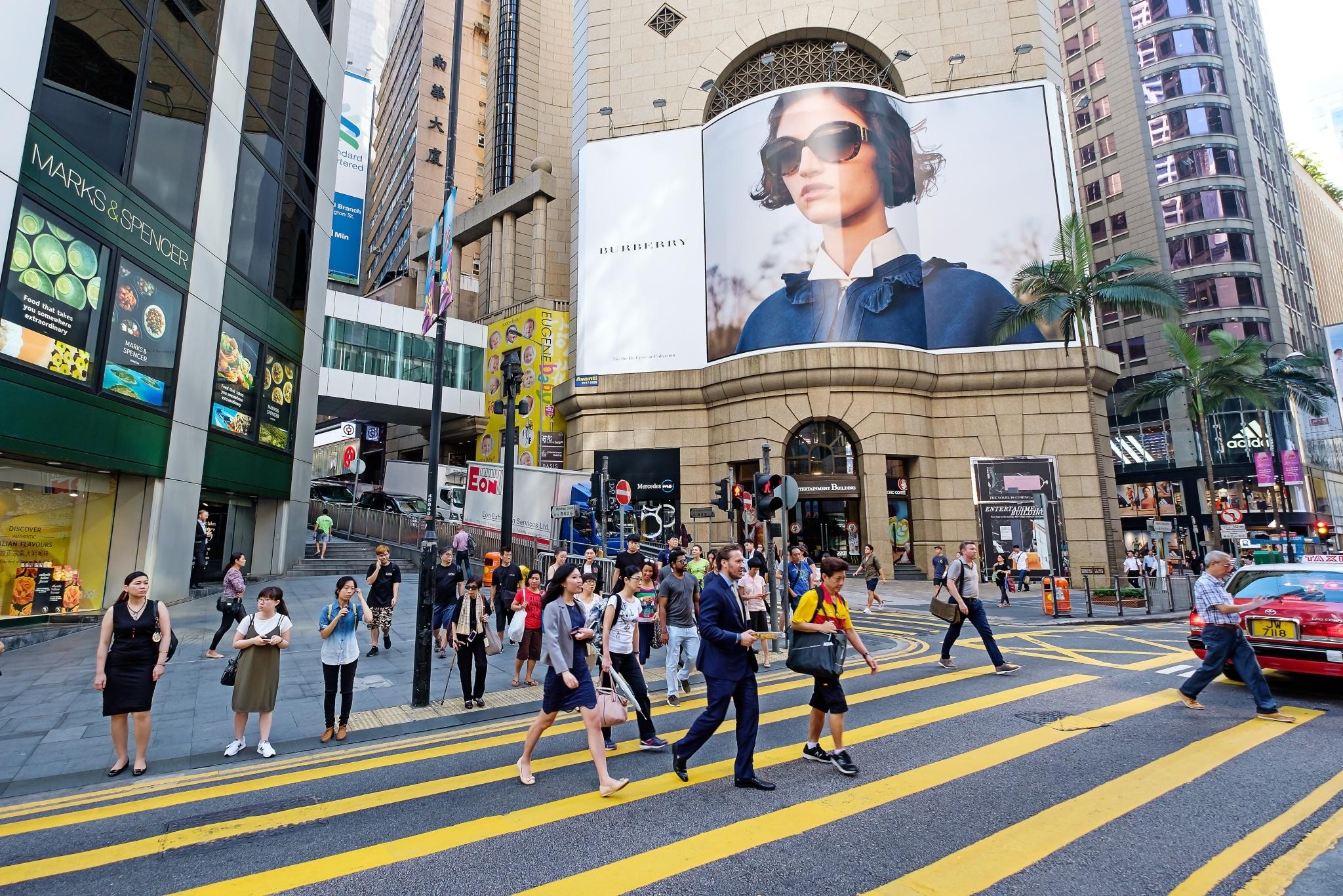 Historic streets of Hong Kong