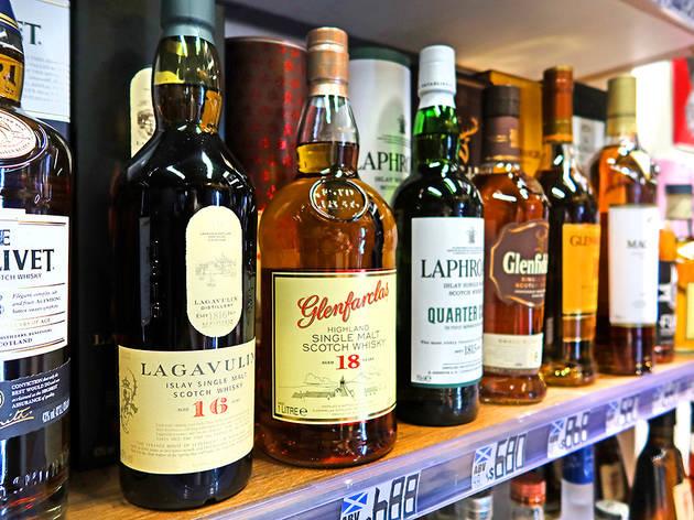 Liquor shop Hong Kong