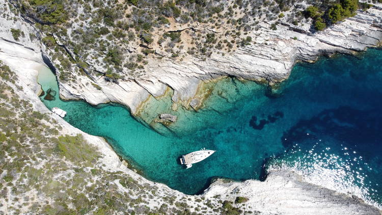 sailing Adriatic