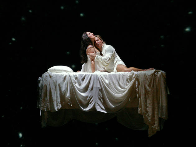 """A scene from Gounod's """"Roméo et Juliette,"""" with Anna Netrebko and Roberto Alagna in the title roles"""