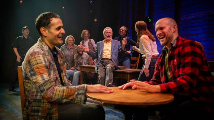 The cast of Come From Away's Melbourne run