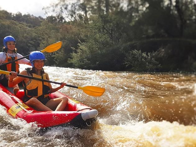White water rafting Adrenaline