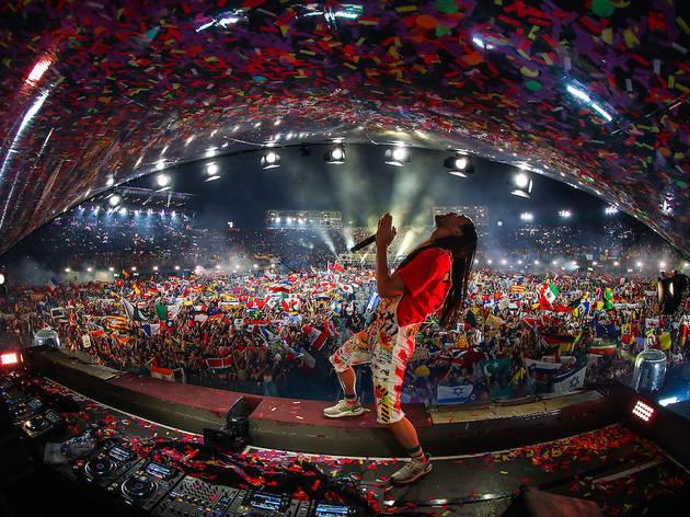Steve Aoki, Tomorrowland Around the World