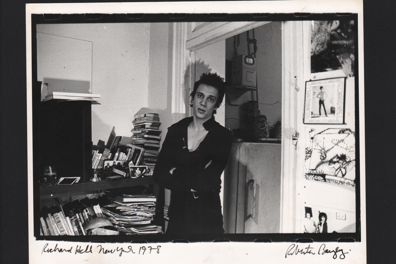 Richard Hell por Roberta Bayley