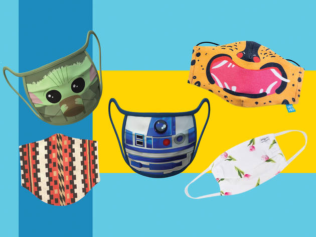 Los cubrebocas más divertidos y originales para niños