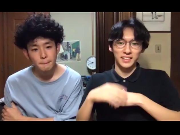 左からRossMoodyのKeita Kobayashi、Kobamuta