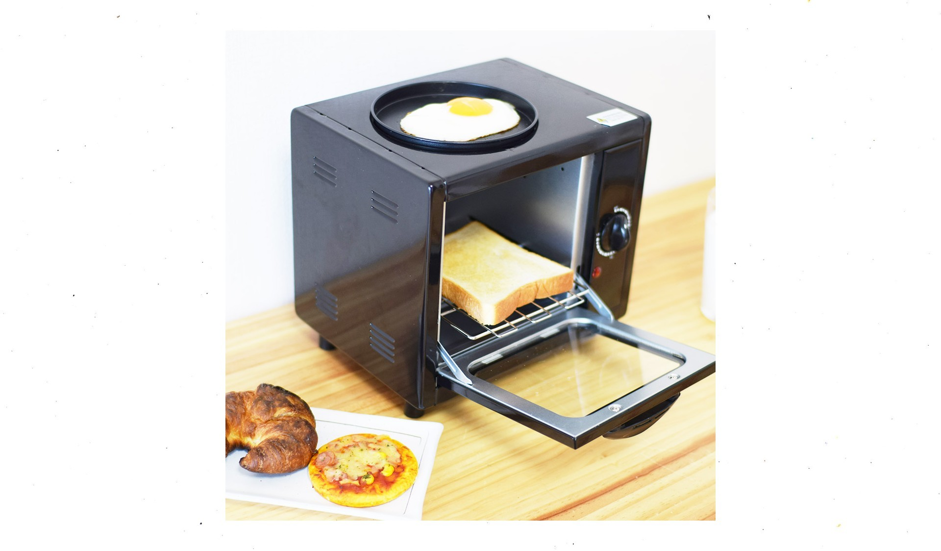 One Person Morning Toaster