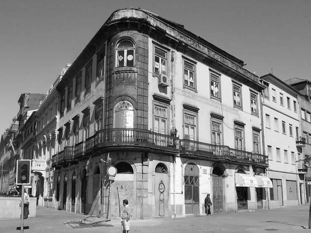 Antigo Hotel do Louvre no Porto