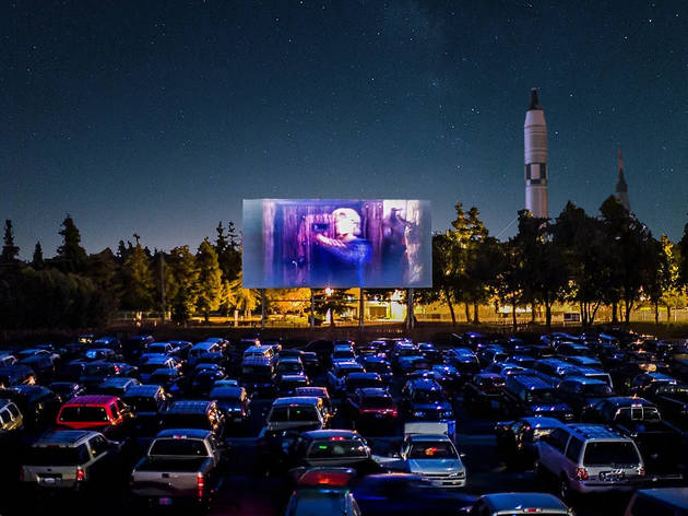 drive-in movie theater