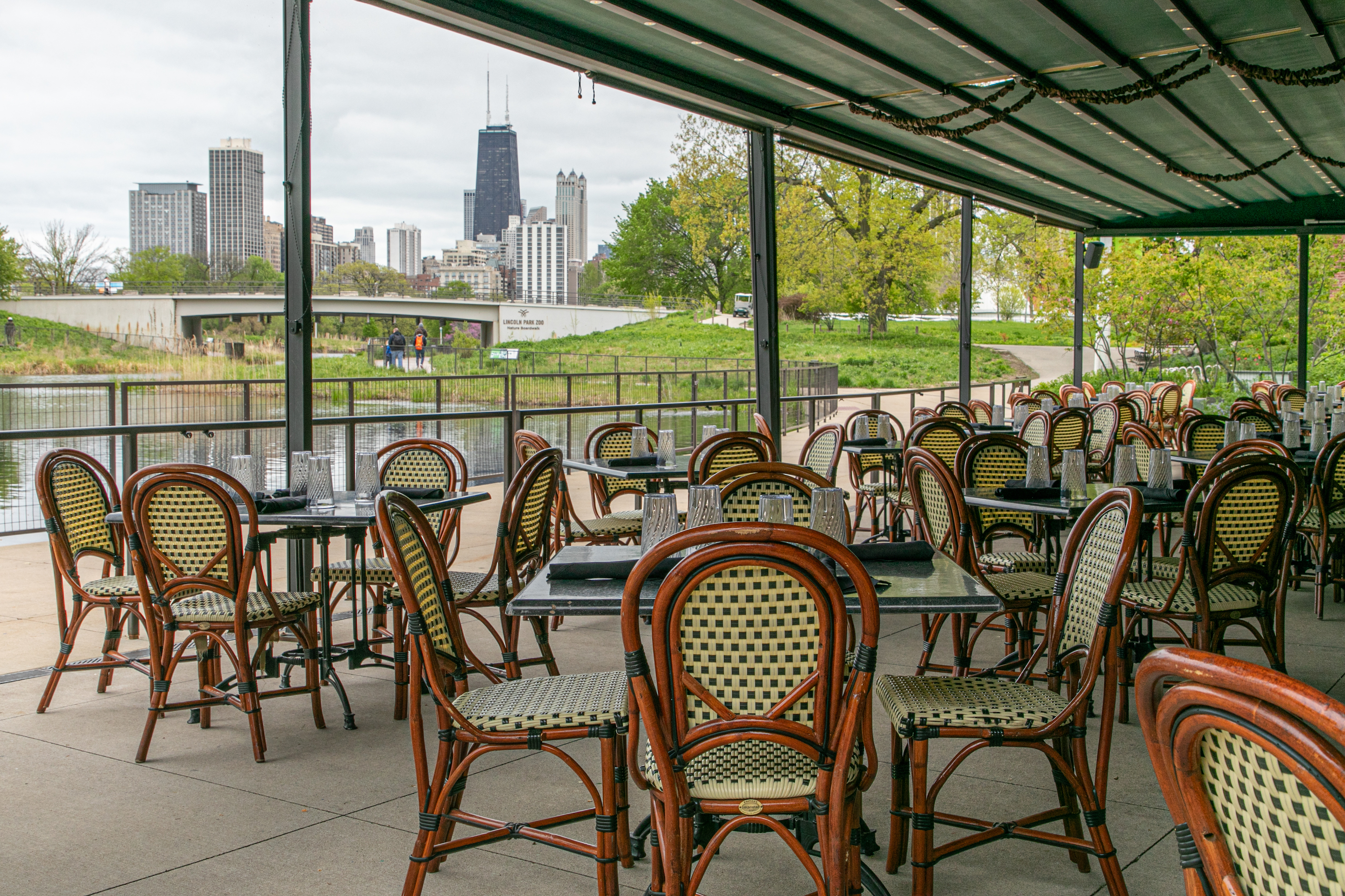 The Patio at Cafe Brauer