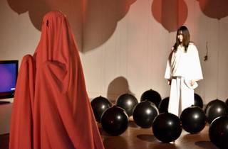 Artist Ulin Miura's past exhibition at FEI Art Museum Yokohama