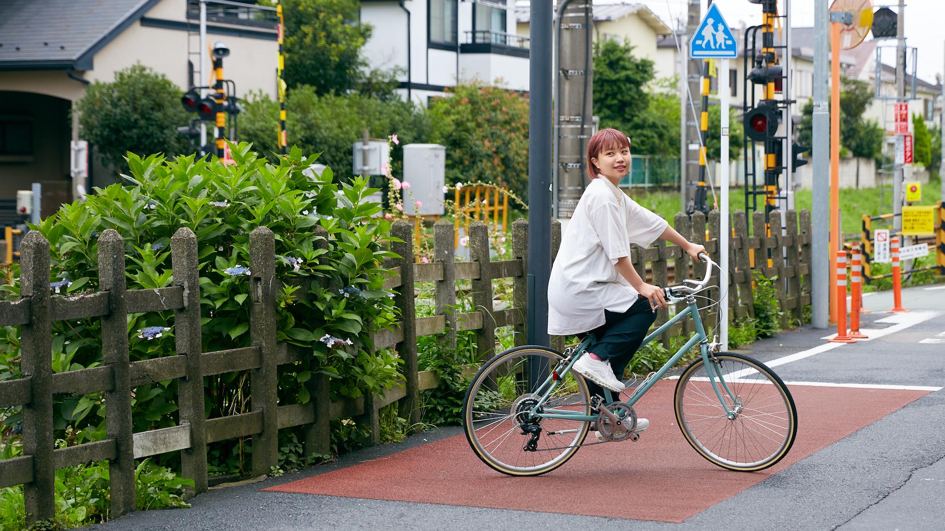 レンタルバイクで巡る世田谷線沿線ご近所ガイド