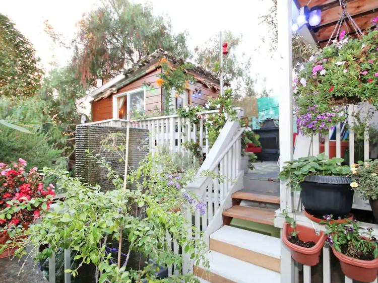 San Diego, CA: The tropical treehouse