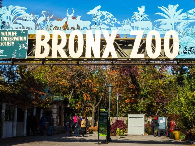 Bronx Zoo entrance