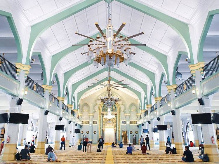 Visit the mosque
