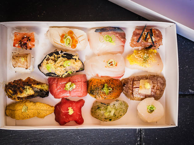 One of L.A.'s best sushi bars takes its omakase digital