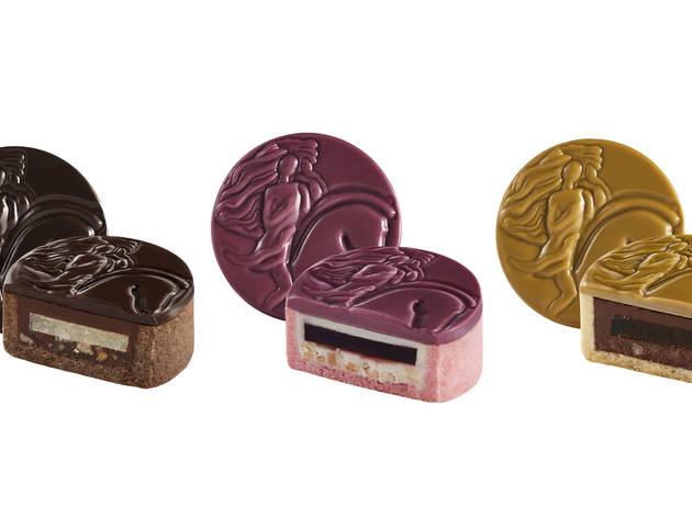 Godiva Chocolatier mooncakes