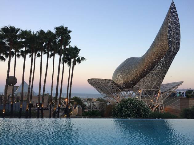 Infinity Pool Hotel Arts Barcelona